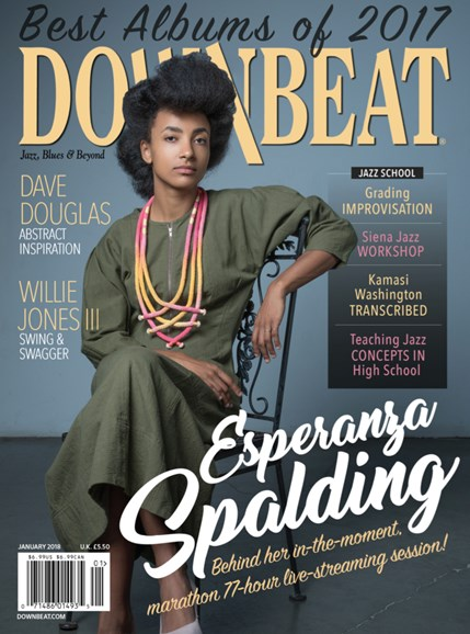 DownBeat Cover - 1/1/2018