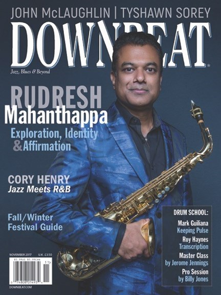 DownBeat Cover - 11/1/2017