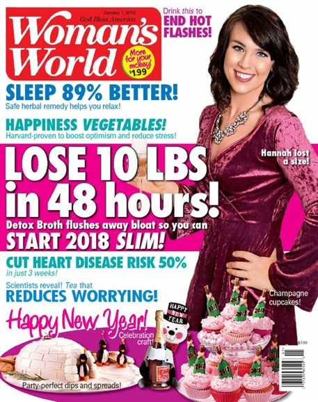 Woman's World Cover - 1/1/2018