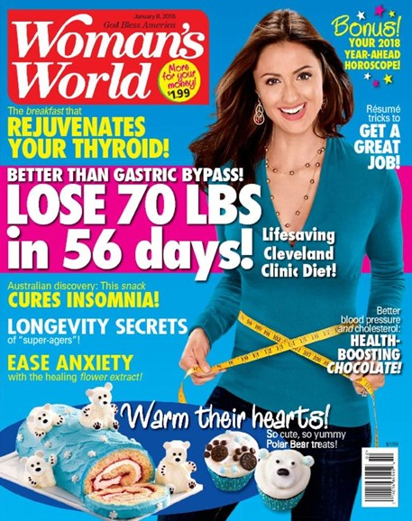 Woman's World Cover - 1/8/2018