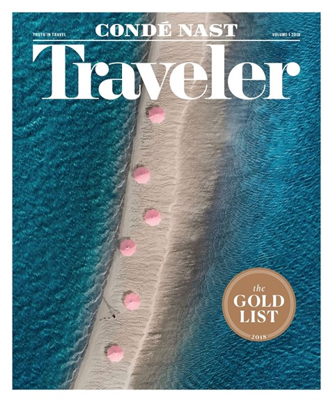 Condé Nast Traveler Cover - 1/1/2018