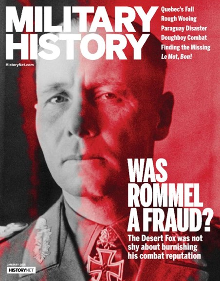Military History Cover - 1/1/2016