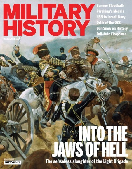 Military History Cover - 3/1/2016