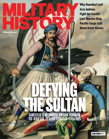 Military History Cover - 5/1/2016
