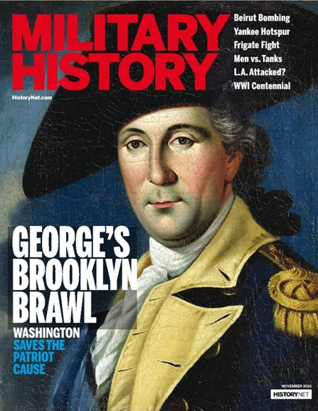 Military History Cover - 11/1/2016