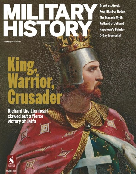 Military History Cover - 3/1/2015