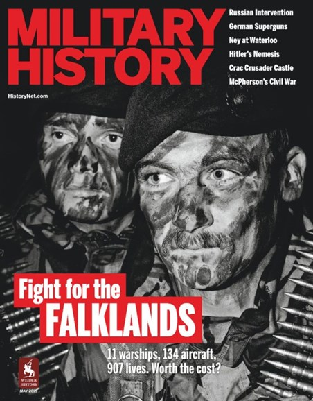 Military History Cover - 5/1/2015