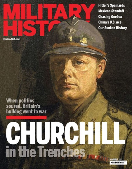 Military History Cover - 11/1/2015