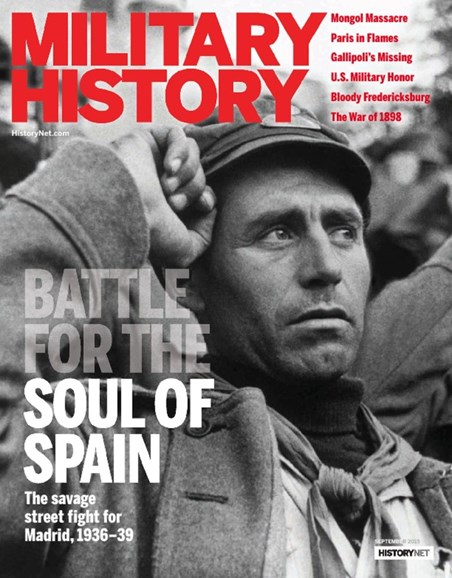 Military History Cover - 9/1/2015
