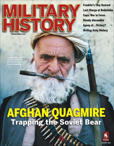 Military History Cover - 1/1/2014
