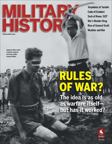 Military History Cover - 7/1/2013
