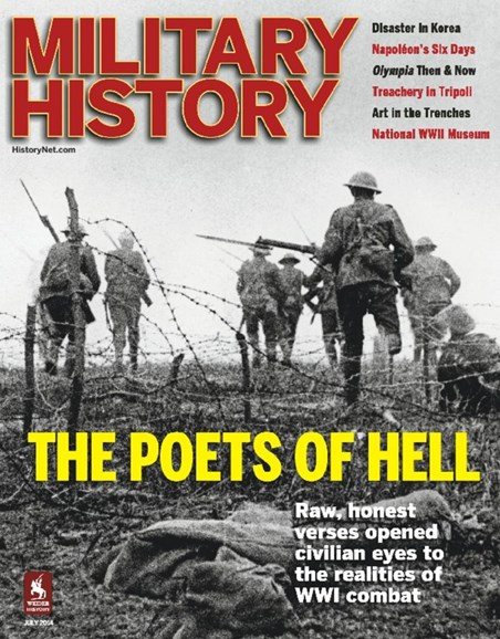 Military History Cover - 7/1/2014