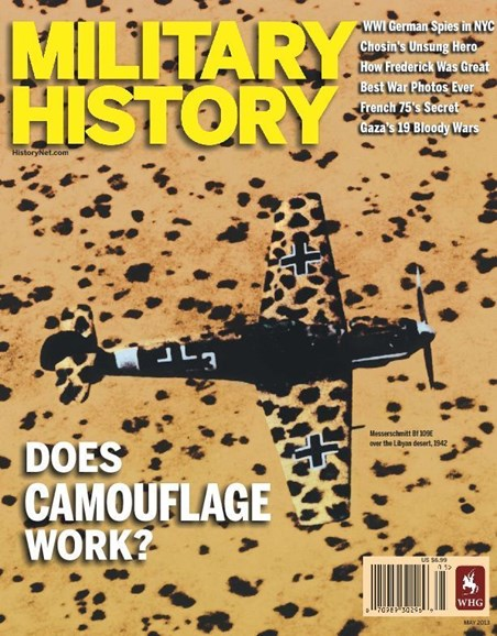 Military History Cover - 5/1/2013