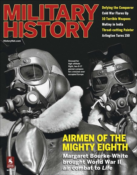 Military History Cover - 5/1/2014