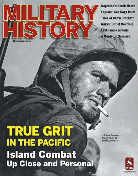 Military History Cover - 11/1/2013