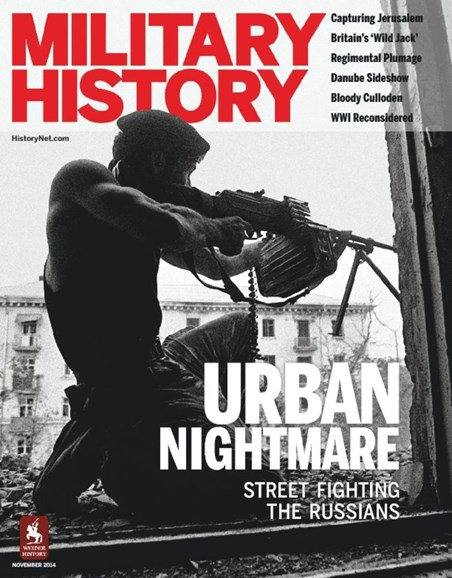 Military History Cover - 11/1/2014