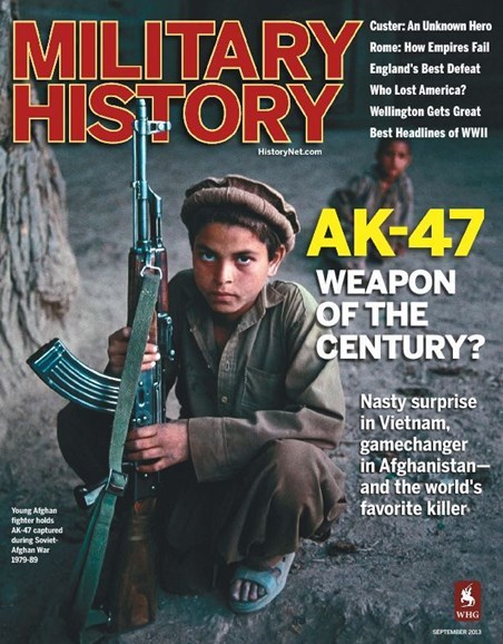 Military History Cover - 9/1/2013