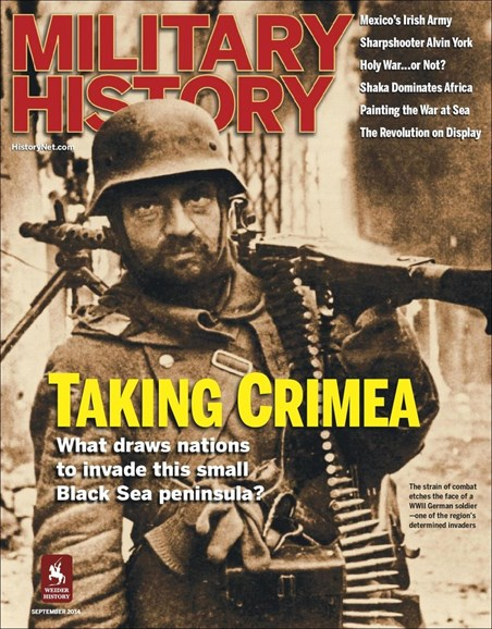 Military History Cover - 9/1/2014