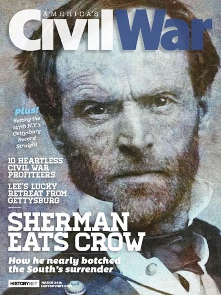 America's Civil War Cover - 3/1/2018