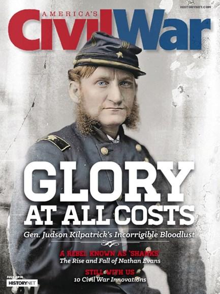 America's Civil War Cover - 7/1/2016
