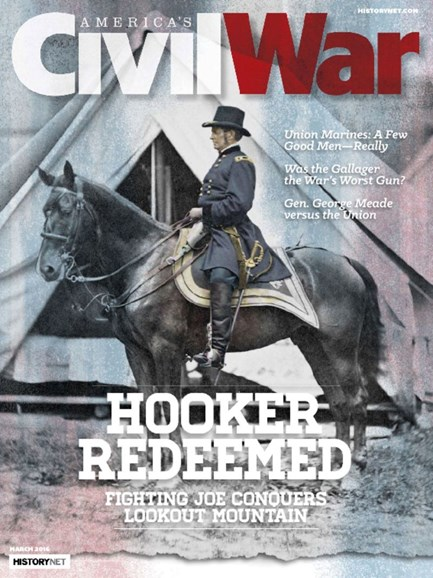 America's Civil War Cover - 3/1/2016