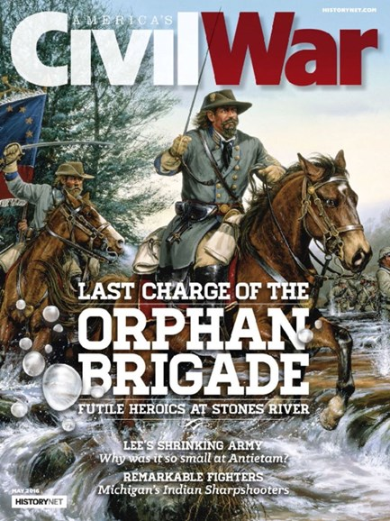 America's Civil War Cover - 5/1/2016