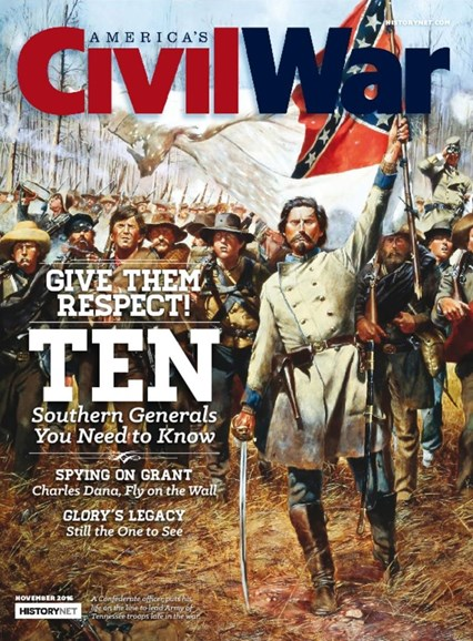 America's Civil War Cover - 11/1/2016