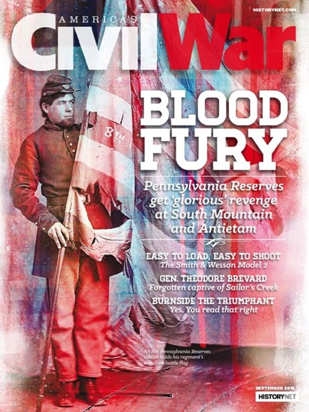 America's Civil War Cover - 9/1/2016