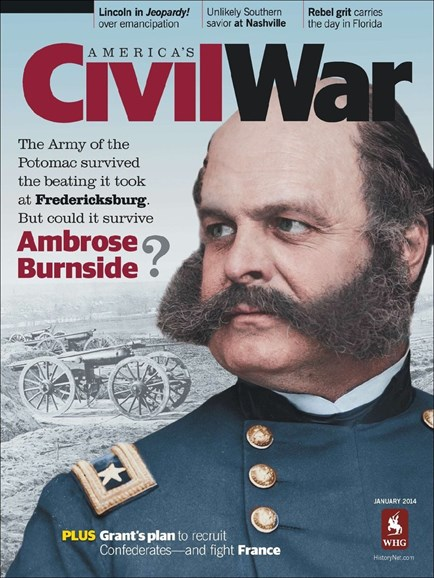 America's Civil War Cover - 1/1/2014