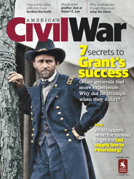 America's Civil War Cover - 1/1/2015