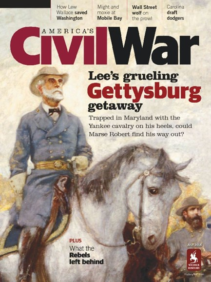 America's Civil War Cover - 7/1/2014
