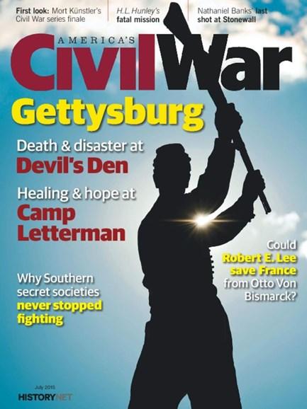 America's Civil War Cover - 7/1/2015