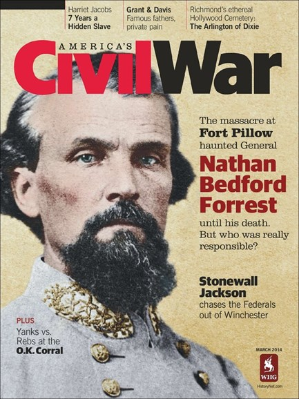America's Civil War Cover - 3/1/2014