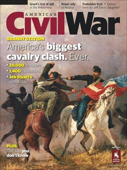 America's Civil War Cover - 5/1/2014