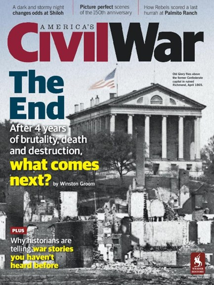 America's Civil War Cover - 3/1/2015