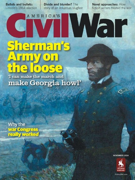 America's Civil War Cover - 11/1/2014