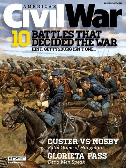 America's Civil War Cover - 11/1/2015