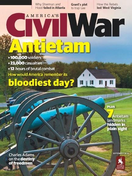 America's Civil War Cover - 9/1/2014