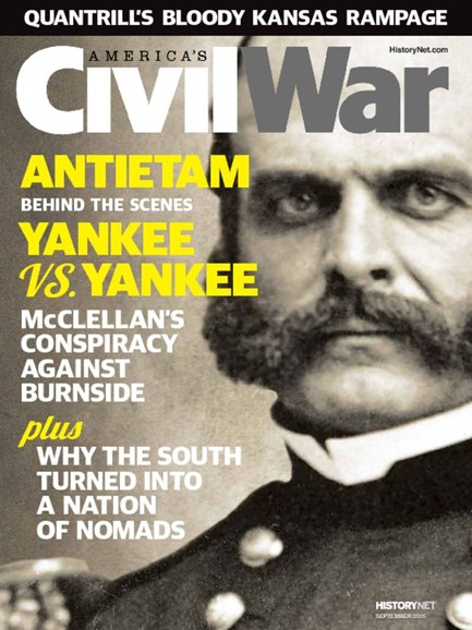 America's Civil War Cover - 9/1/2015