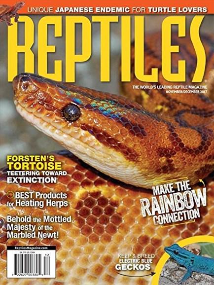 Reptiles Cover - 11/1/2017