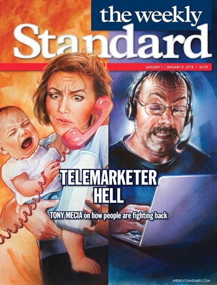Washington Examiner Cover - 1/1/2018