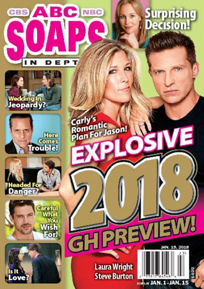 ABC Soaps In Depth Cover - 1/15/2018