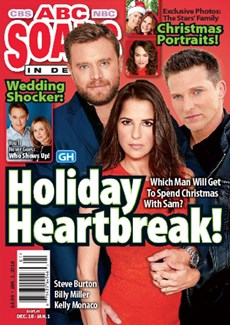 ABC Soaps In Depth | 1/2018 Cover