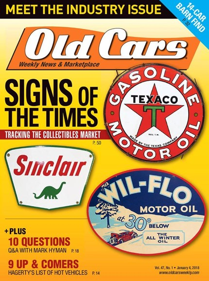 Old Cars Cover - 1/4/2018