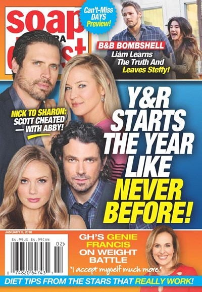 Soap Opera Digest Cover - 1/8/2018