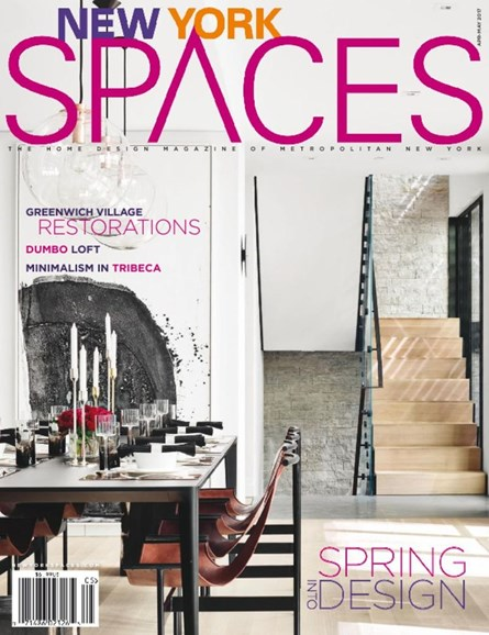 New York Spaces Cover - 4/1/2017