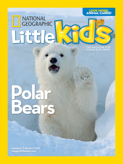 National Geographic Little Kids Cover - 1/1/2018
