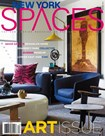New York Spaces magazine | 10/1/2016 Cover
