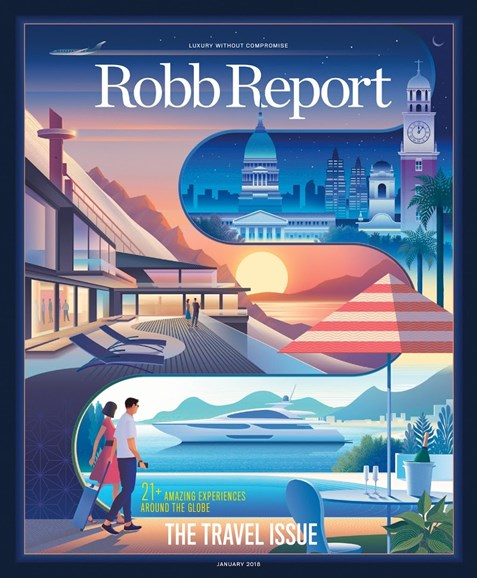 Robb Report Cover - 1/1/2018