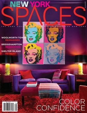 New York Spaces magazine   6/1/2017 Cover